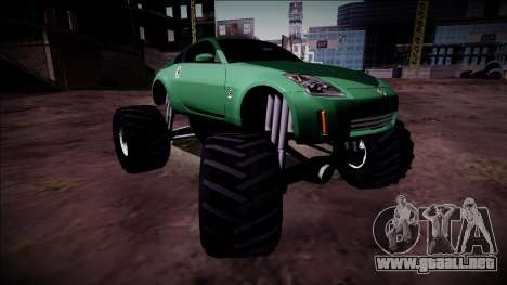 Nissan 350Z Monster Truck para GTA San Andreas