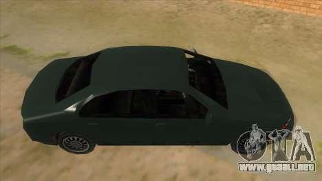 GTA LCS KURUMA para visión interna GTA San Andreas