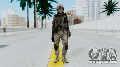 Crysis 2 US Soldier 3 Bodygroup B para GTA San Andreas segunda pantalla