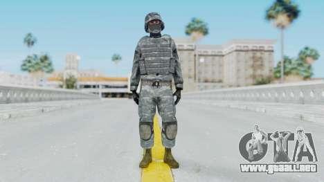 Acu Soldier Balaclava v2 para GTA San Andreas segunda pantalla