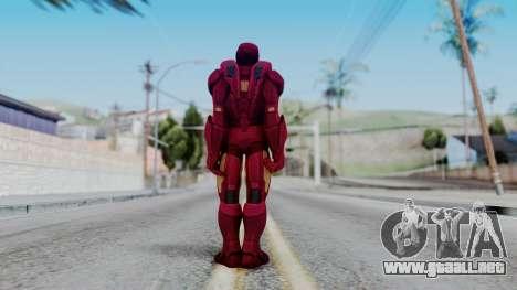 Ironman Skin para GTA San Andreas tercera pantalla