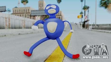 Sanic Hegehog para GTA San Andreas segunda pantalla