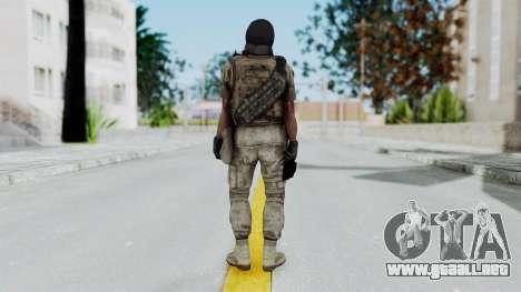 Crysis 2 US Soldier 8 Bodygroup B para GTA San Andreas tercera pantalla