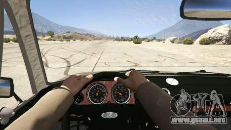 GTA 5 VAZ 2106 vista trasera