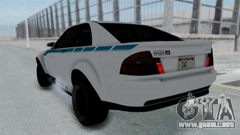 GTA 5 Karin Sultan RS Stock PJ para las ruedas de GTA San Andreas