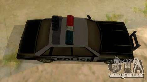 Police Car from Manhunt 2 para visión interna GTA San Andreas