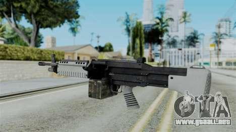 GTA 5 Combat MG - Misterix 4 Weapons para GTA San Andreas segunda pantalla