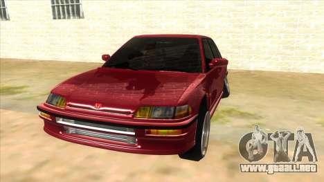 Honda Civic Ef Sedan para GTA San Andreas