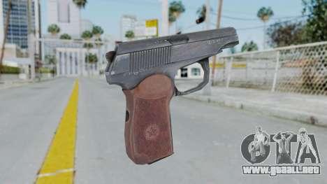 Arma2 Makarov para GTA San Andreas segunda pantalla