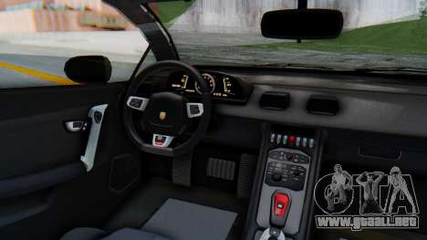 GTA 5 Pegassi Vacca SA Style para GTA San Andreas vista hacia atrás