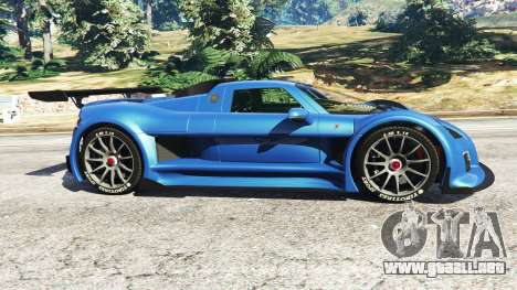 GTA 5 Gumpert Apollo S v1.2 vista lateral izquierda