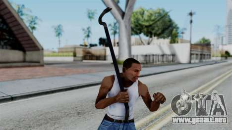 No More Room in Hell - Crowbar para GTA San Andreas tercera pantalla