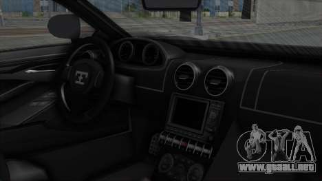 GTA 5 Truffade Adder v2 SA Lights para la visión correcta GTA San Andreas