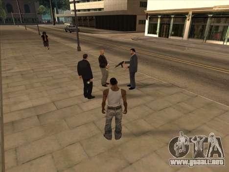Los rusos en el distrito Comercial para GTA San Andreas quinta pantalla