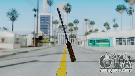 Vice City Screwdriver para GTA San Andreas