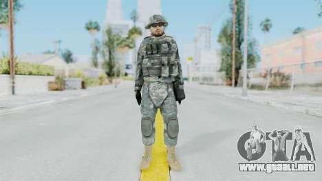 Acu Soldier 7 para GTA San Andreas segunda pantalla