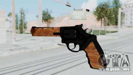 Wood Revolver para GTA San Andreas tercera pantalla