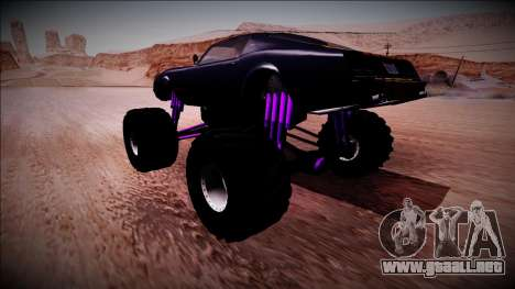GTA 5 Imponte Phoenix Monster Truck para GTA San Andreas left