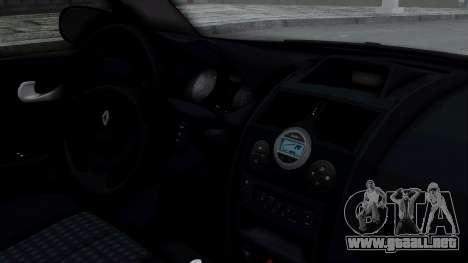 Renault Megane II para la visión correcta GTA San Andreas