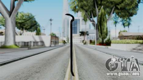 No More Room in Hell - Crowbar para GTA San Andreas segunda pantalla