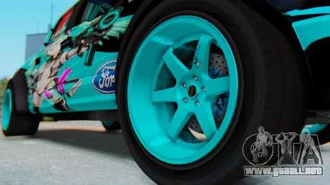 Ford F-150 2015 Drift Gym para GTA San Andreas vista hacia atrás