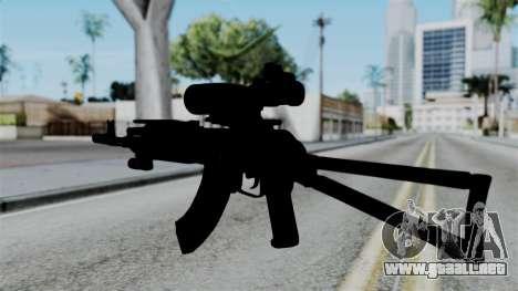 AK-103 OGA para GTA San Andreas segunda pantalla