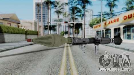 GTA 5 RPG - Misterix 4 Weapons para GTA San Andreas segunda pantalla