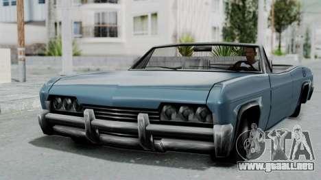 Blade Beach Bug para GTA San Andreas