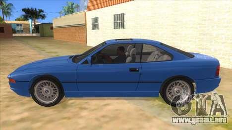BMW 850i E31 para GTA San Andreas left