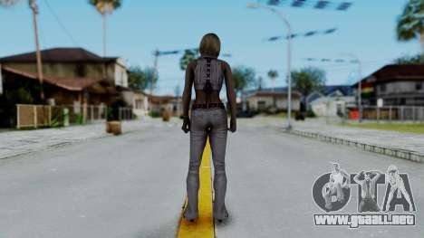 Resident Evil 4 Ultimate HD - Ashley Leather para GTA San Andreas tercera pantalla