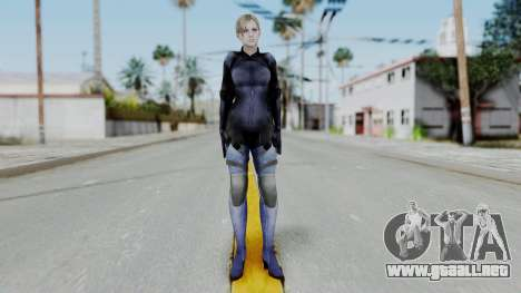 Jill Valentine Battlesuit Closed RE5 para GTA San Andreas segunda pantalla