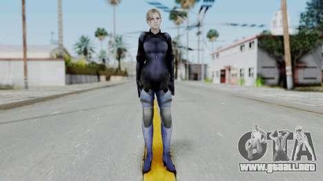 Jill Valentine Battlesuit Closed RE5 para GTA San Andreas segunda pantalla