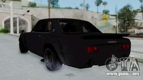 Nissan Skyline 2000GTR Speedhunters Edition para GTA San Andreas left