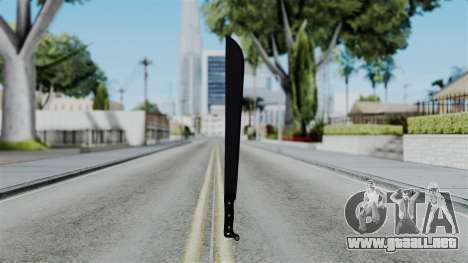 No More Room in Hell - Machete para GTA San Andreas tercera pantalla