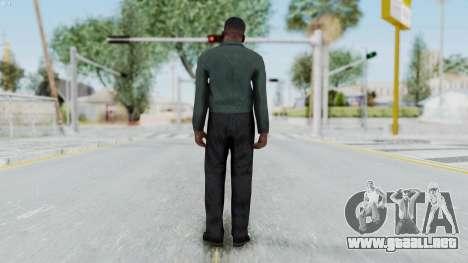GTA 5 Franklin Clinton para GTA San Andreas tercera pantalla