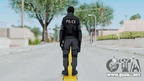 GTA 5 S.W.A.T. Police para GTA San Andreas tercera pantalla