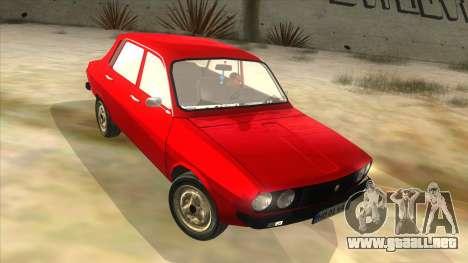 Dacia 1310 para GTA San Andreas vista hacia atrás