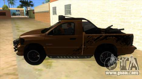 Dodge Ram SRT DES 2012 para GTA San Andreas left