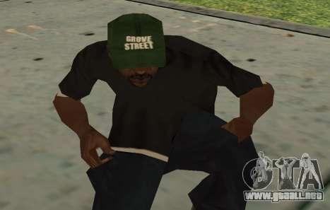 Sweet REINCARNATED para GTA San Andreas sucesivamente de pantalla