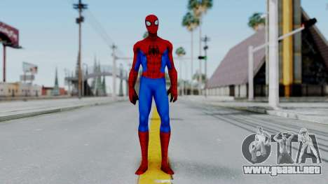 Marvel Future Fight Spider Man Classic v1 para GTA San Andreas segunda pantalla