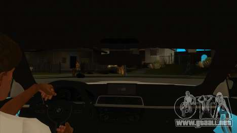 BMW M4 Liberty Walk Performance para visión interna GTA San Andreas