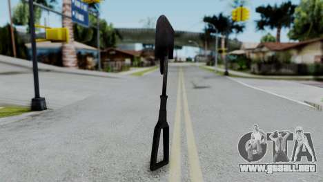 No More Room in Hell - Entrenchment Tool para GTA San Andreas segunda pantalla