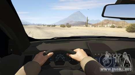 GTA 5 Ford Taurus vista trasera
