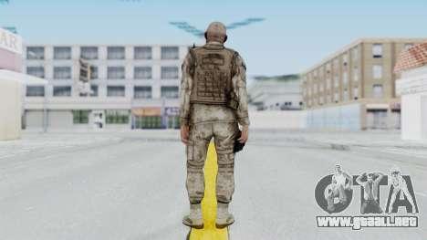 Crysis 2 US Soldier FaceB Bodygroup A para GTA San Andreas tercera pantalla