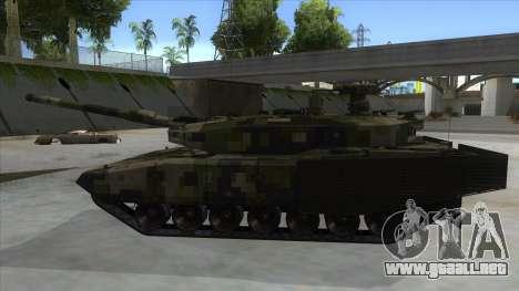 MBT52 Kuma para GTA San Andreas left