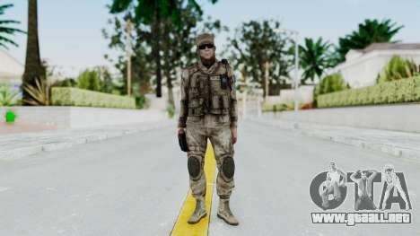 Crysis 2 US Soldier 3 Bodygroup A para GTA San Andreas segunda pantalla