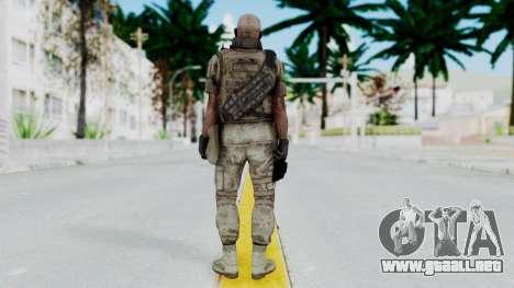 Crysis 2 US Soldier FaceB Bodygroup B para GTA San Andreas tercera pantalla