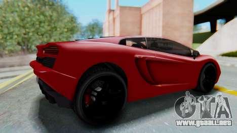 GTA 5 Pegassi Vacca SA Style para la visión correcta GTA San Andreas