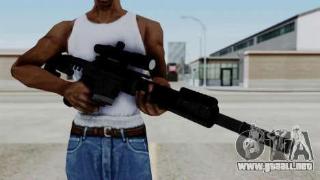 McMillan CS5 No Bipod para GTA San Andreas tercera pantalla