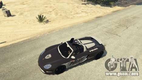 GTA 5 Porsche Carrera GT Cop volante